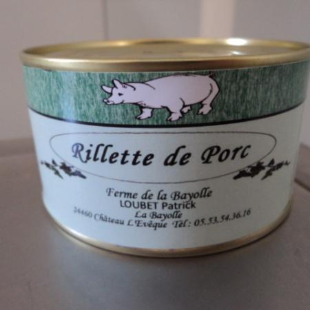 rillette de porc